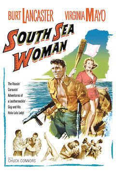 South Sea Woman movie poster.