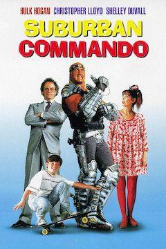 Suburban Commando movie poster.