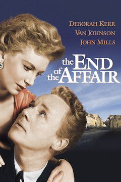 The End of the Affair movie poster.