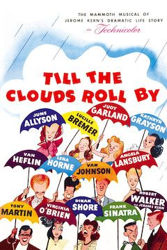 Till the Clouds Roll By movie poster.