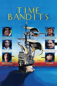 Time Bandits movie poster.