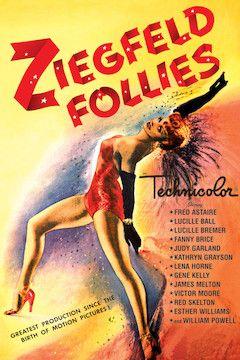 Ziegfeld Follies movie poster.
