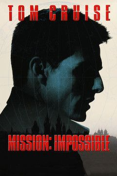 Mission: Impossible movie poster.