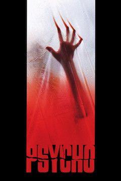 Psycho movie poster.
