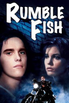 Rumble Fish movie poster.