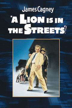 A Lion Is in the Streets movie poster.