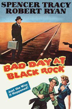 Bad Day at Black Rock movie poster.
