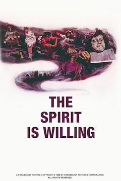 The Spirit Is Willing movie poster.