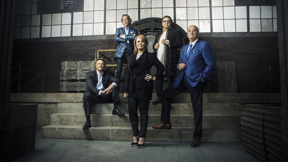 Image for the TV series Dragons' Den