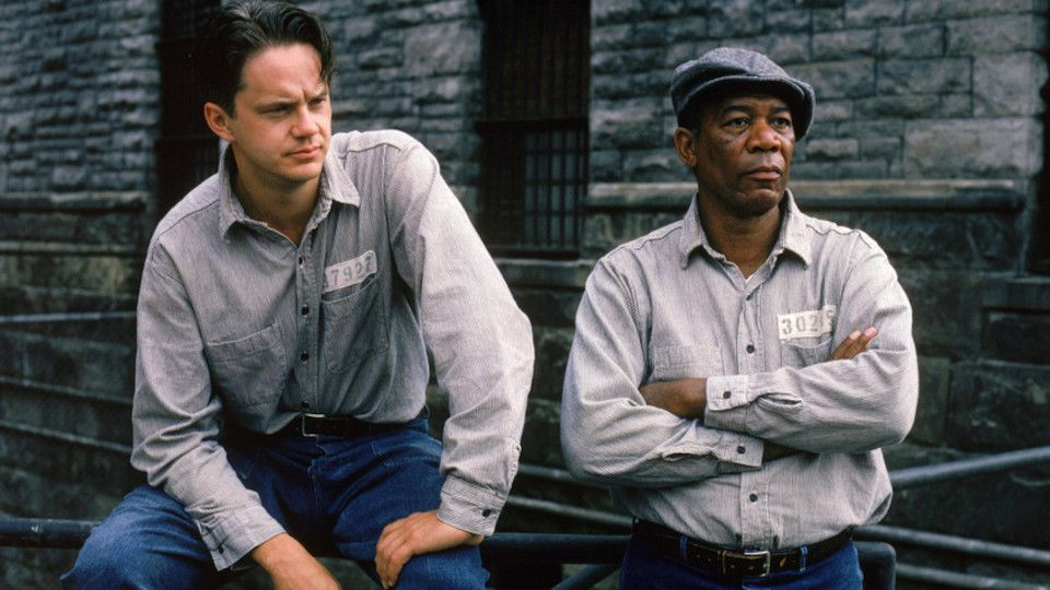 Poster for the movie The Shawshank Redemption