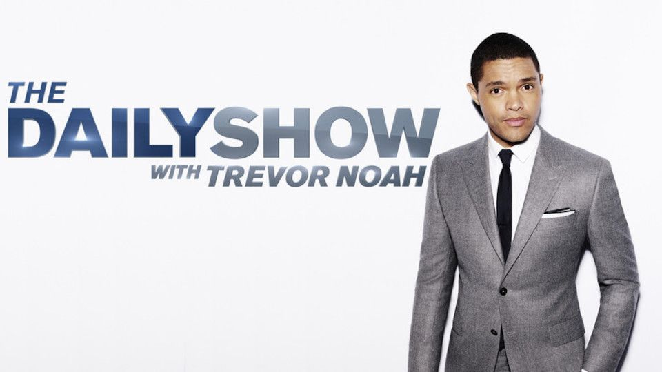 Image for the TV series The Daily Show With Trevor Noah