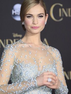 Photo of Lily James
