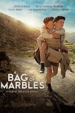 Poster for the movie A Bag of Marbles