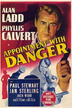 Appointment With Danger movie poster.