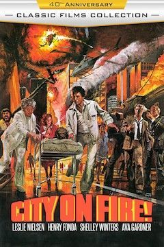 Poster for the movie City on Fire