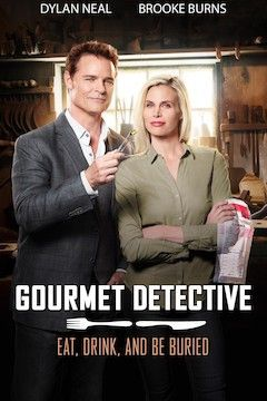 Gourmet Detective: Eat, Drink and Be Buried movie poster.