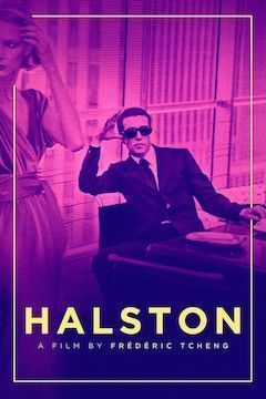 Poster for the movie Halston