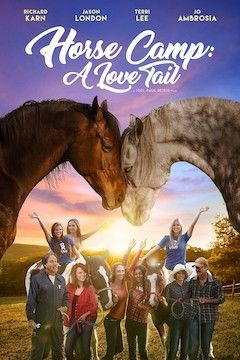 Poster for the movie Horse Camp: A Love Tail