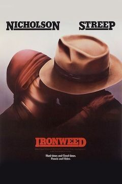 Ironweed movie poster.