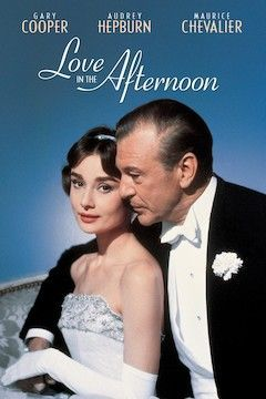 Love in the Afternoon movie poster.