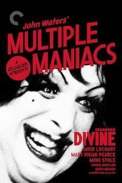 Multiple Maniacs movie poster.