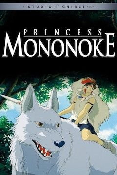 Princess Mononoke movie poster.