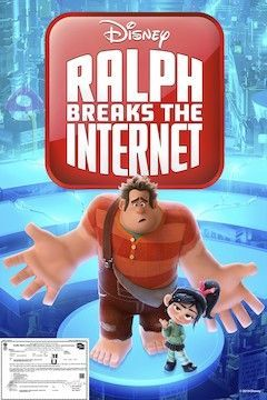 Ralph Breaks the Internet movie poster.