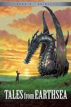 Tales From Earthsea movie poster.