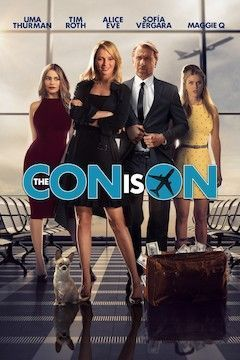 The Con is On movie poster.