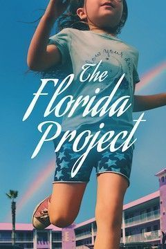 The Florida Project movie poster.