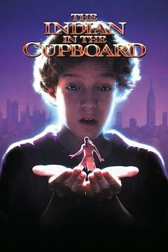 Poster for the movie The Indian in the Cupboard