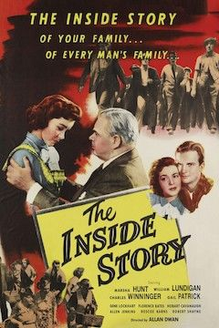 The Inside Story movie poster.