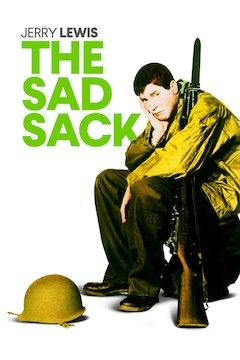 The Sad Sack movie poster.