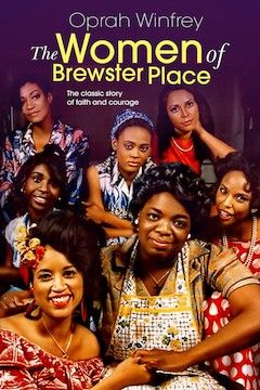 The Women of Brewster Place movie poster.