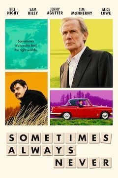 Sometimes Always Never movie poster.