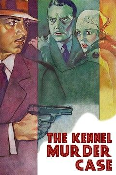 Poster for the movie The Kennel Murder Case