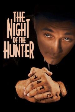 Night of the Hunter movie poster.