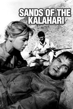 Sands of the Kalahari movie poster.