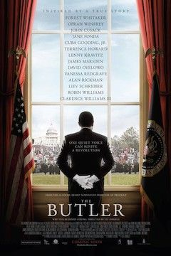 Poster for the movie The Butler