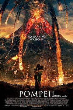 Pompeii movie poster.