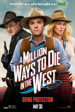 A Million Ways to Die in the West movie poster.