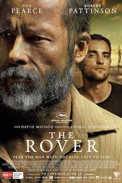 Poster for the movie The Rover