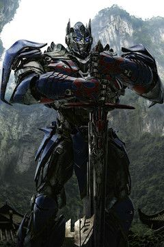 Transformers: Age of Extinction movie poster.