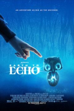 Earth to Echo movie poster.