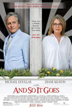 And So It Goes movie poster.