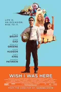 Wish I Was Here movie poster.