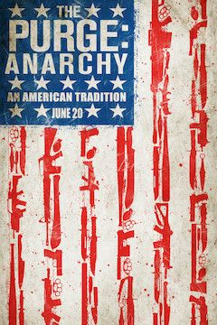 The Purge: Anarchy movie poster.