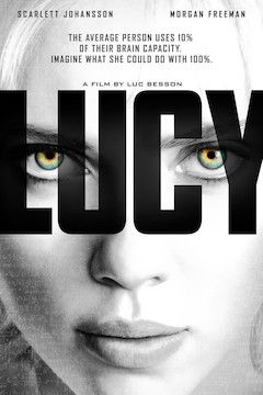 Poster for the movie Lucy