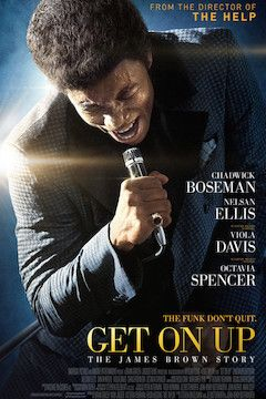 Get on Up movie poster.
