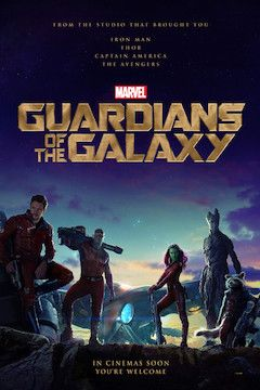 Guardians of the Galaxy movie poster.